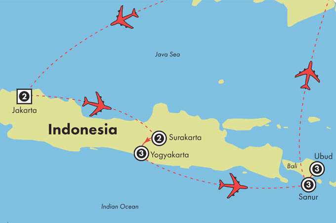 Gate1 Tours 15 Day Indonesia Java Bali