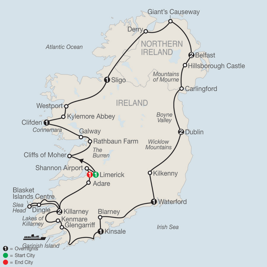 Map Of Shannon Ireland.Map Of Ireland Shannon Airport Unsecureflight Nl