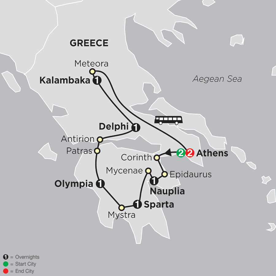 Cosmos Tours: The Best Of Greece 2019