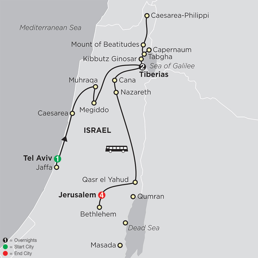 Biblical Israel - Faith-based Travel 2020