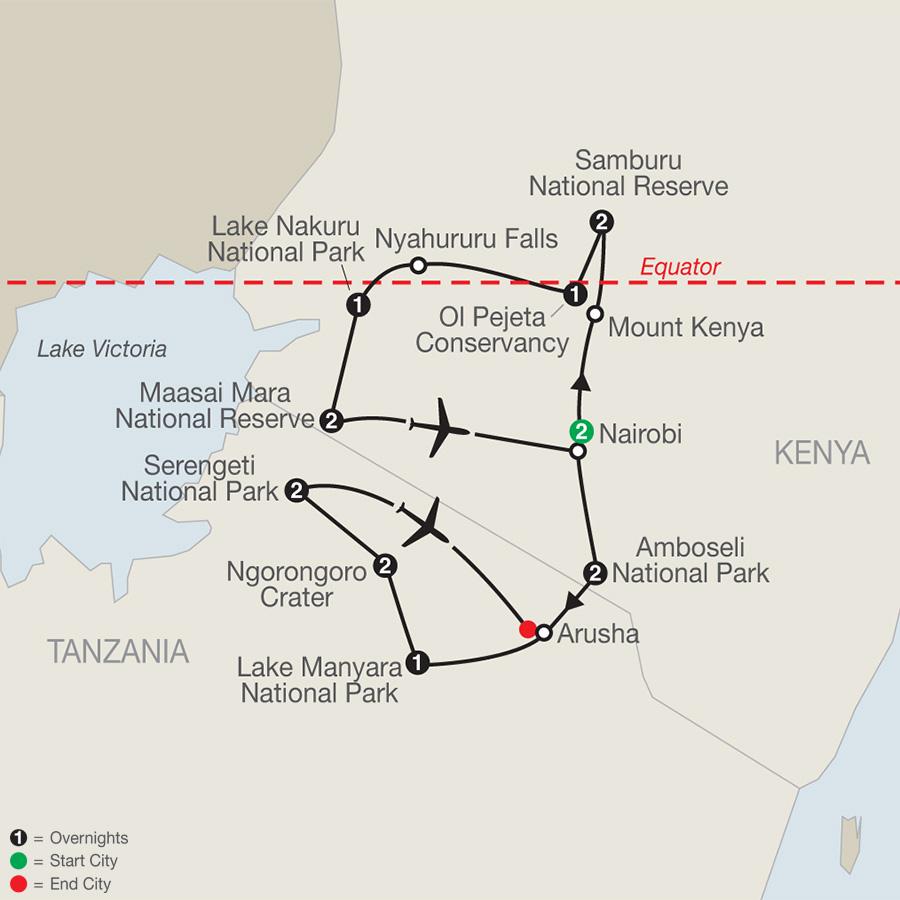 c5aea57d0 Globus Tours  Kenya   Tanzania  The Safari Experience With Nairobi 2020