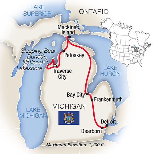 Tauck Tours Michigan S Lakes Mackinac Island 2019