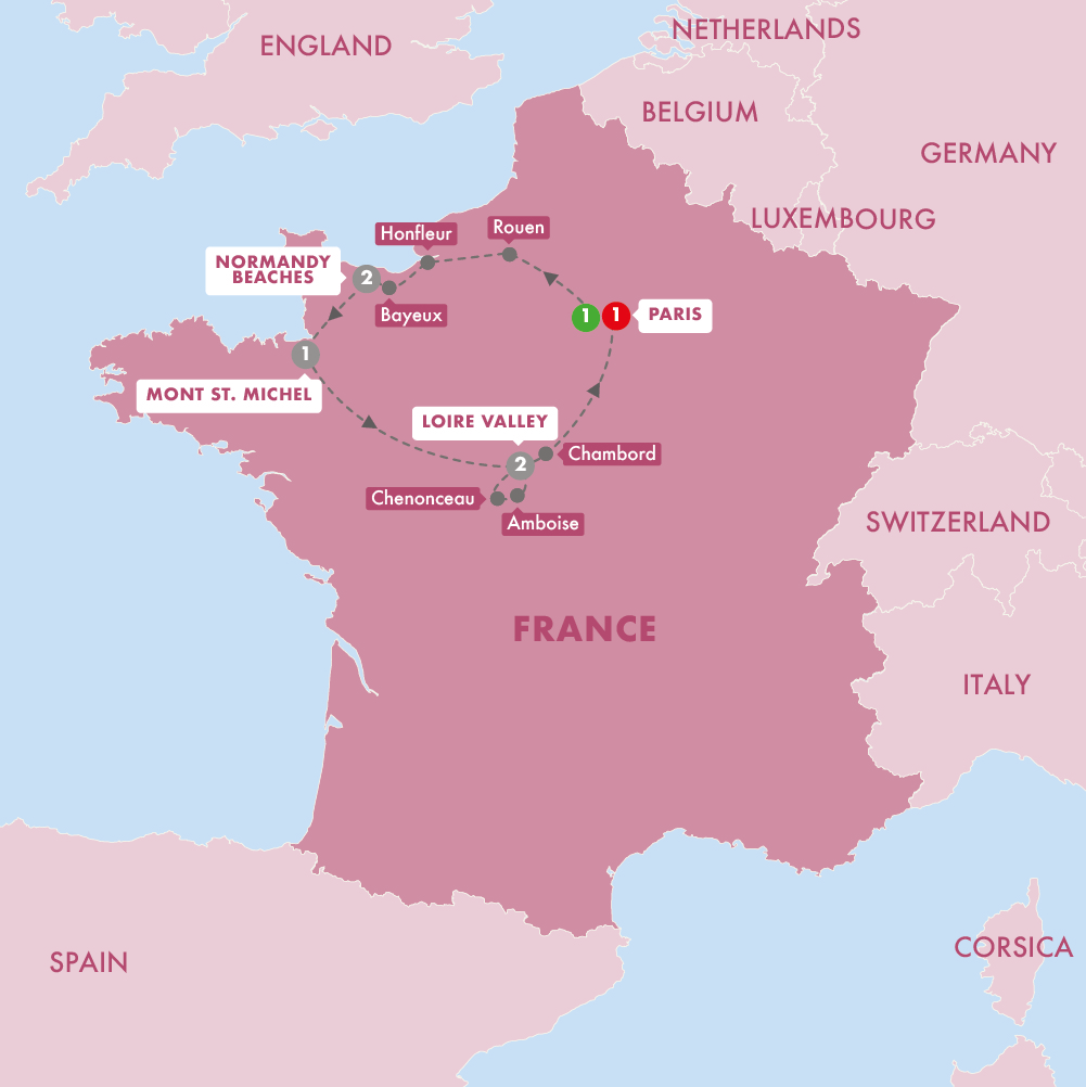 Trafalgar Tours The Treasures Of France Including Normandy Summer 2019