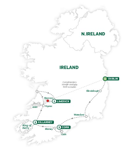 Dublin On Map Of Ireland.Low Unpublished Prices On Brendan Treasures Of Ireland End Dublin 2019