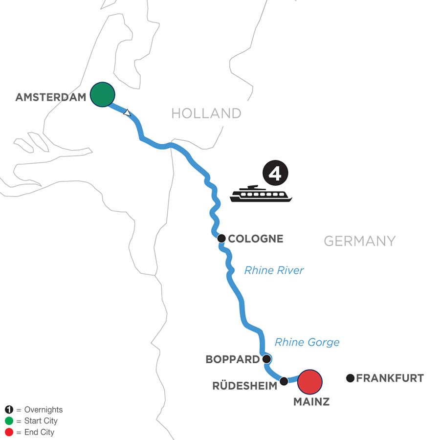 Low Unpublished Prices On Globus - A Taste of the Rhine (Southbound) 2020