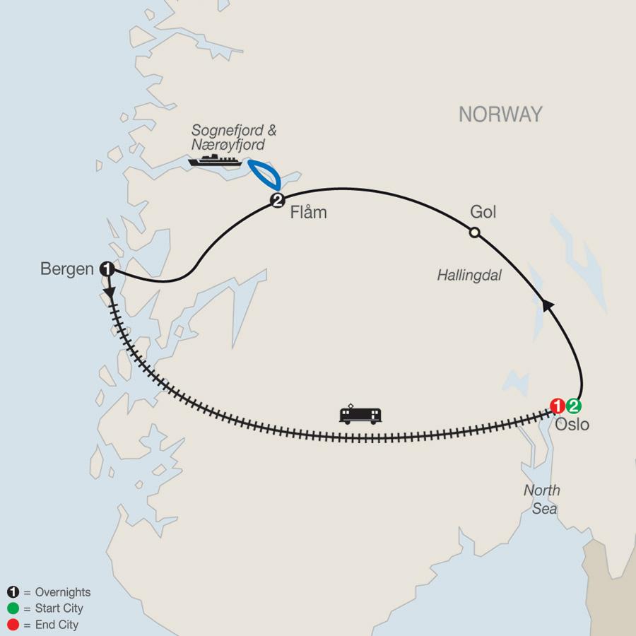 Norwegian Fjords Escape 2020