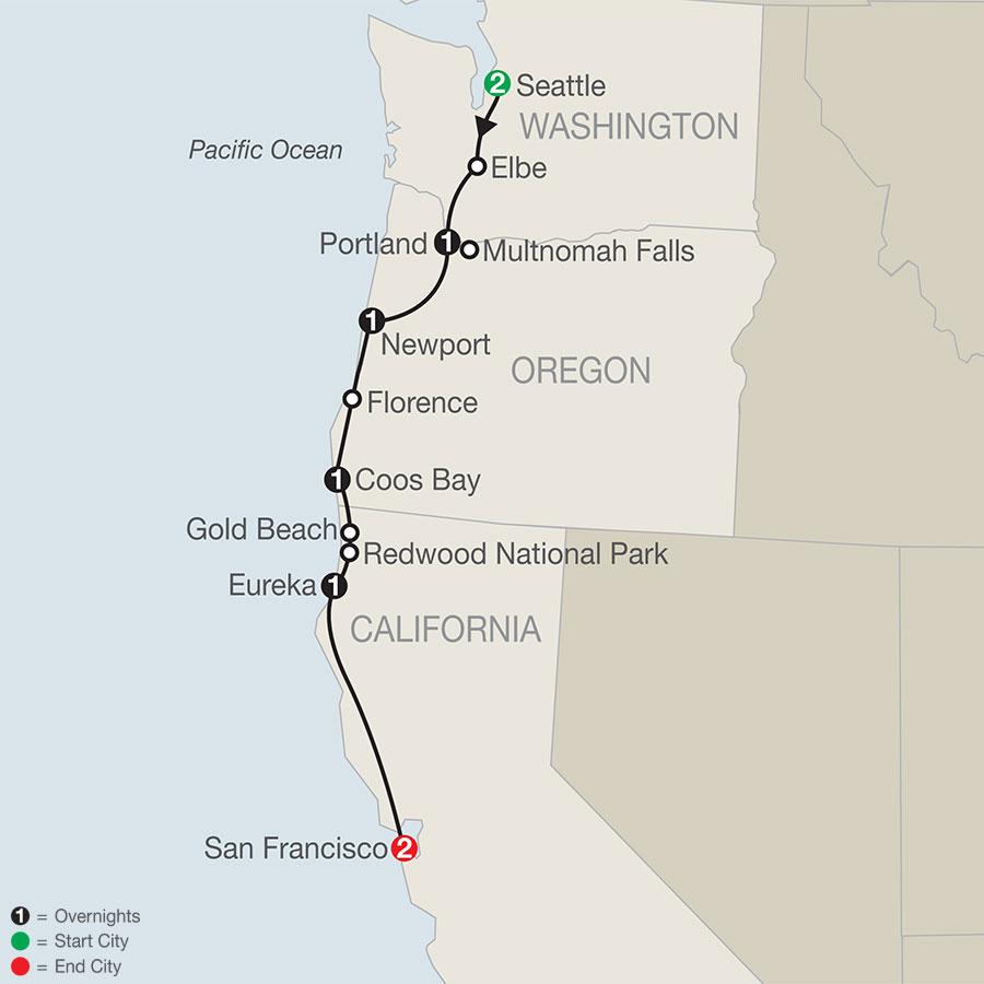 california adventure map 2020