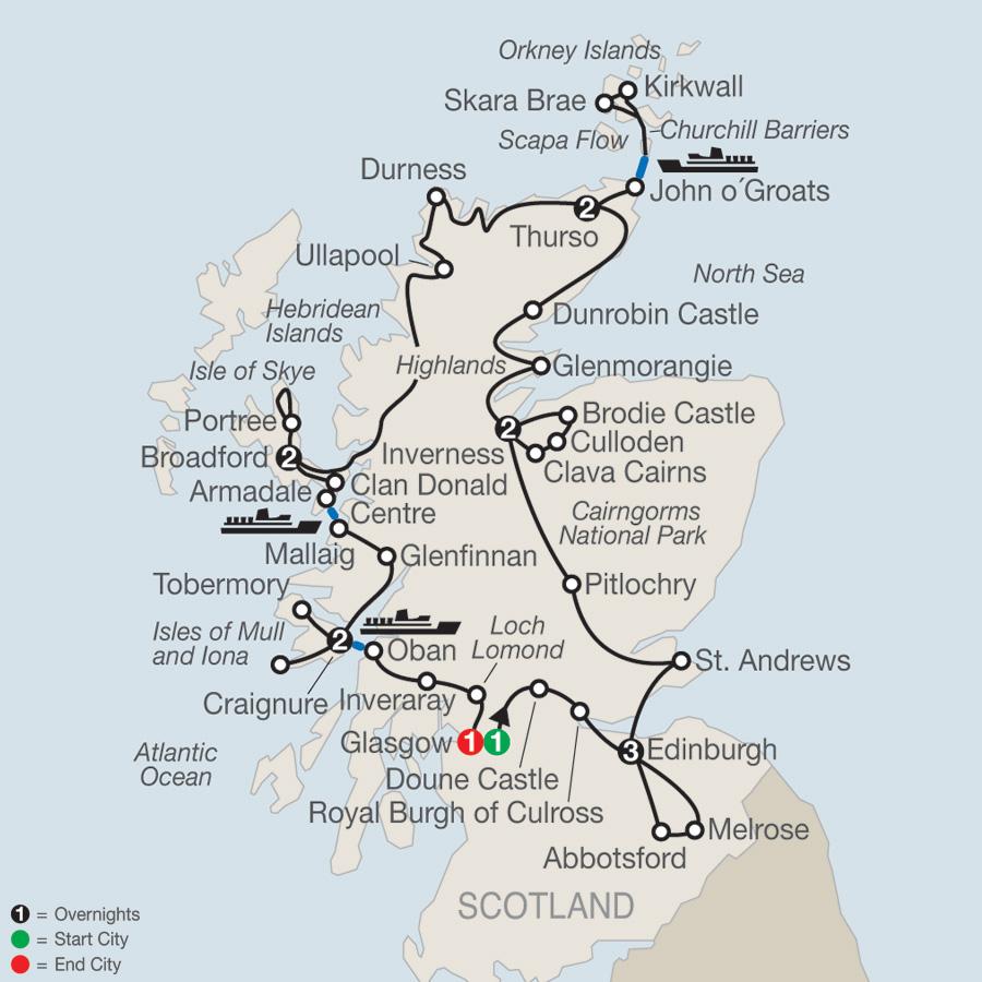 Scottish Highlands & Islands 2020 on