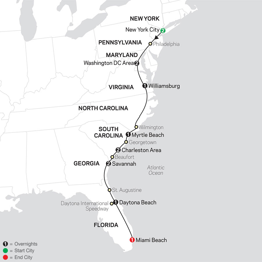 Low Unpublished Prices On Cosmos - Exploring the Eastern Seaboard 2020