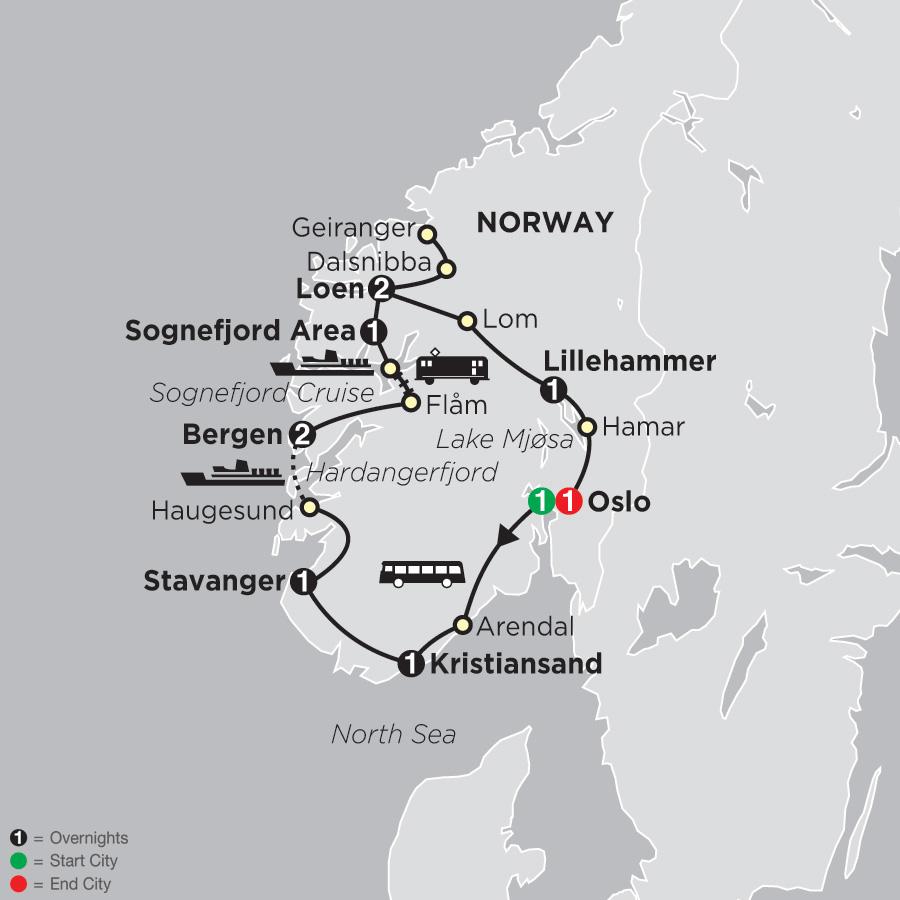 Norwegian Fjords 2020