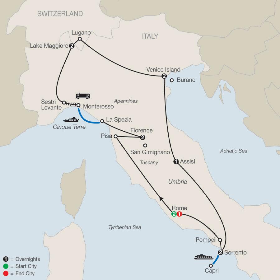 Italian Mosaic 2021 By Globus Tours