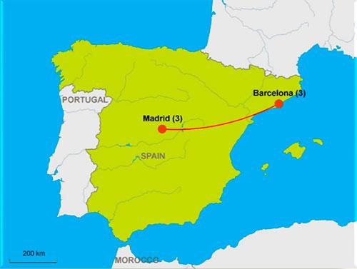 CIE Tours: Barcelona & Madrid Superior Tourist Class Hotels