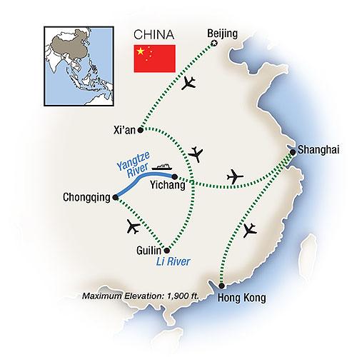 Tauck Tours China