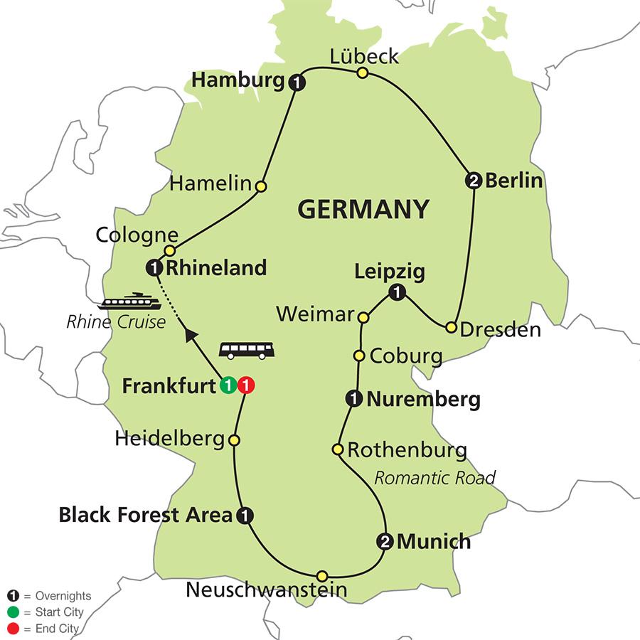 Nuremberg Grand Tour