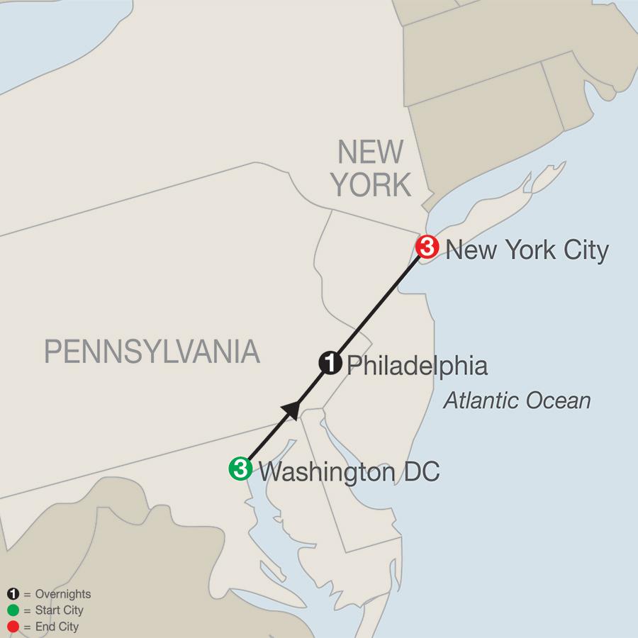 Escorted Tour Of Washington Dc
