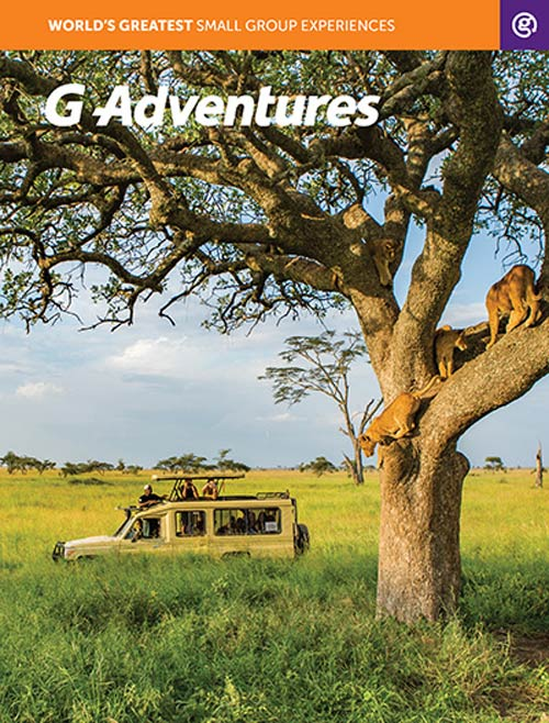 G Adventures Tours -  Brochure