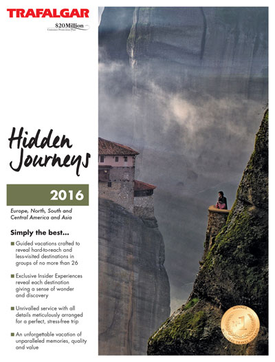 Trafalgar Tours - Hidden Journeys Brochure