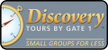 Discovery By Gate1 Tours Logo