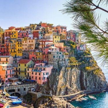 Italy Sea Houses Cinque Terre