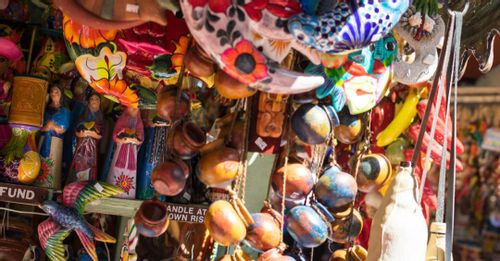 Check out Olvera Street