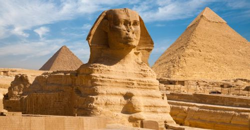 See the Great Sphinx of Giza
