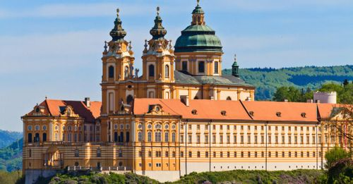 Explore the massive Melk Abbey, one of the most impressive architectural structures in Austria