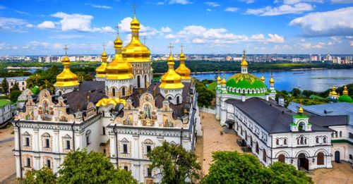 Visit the Monastery of the Caves in Kiev