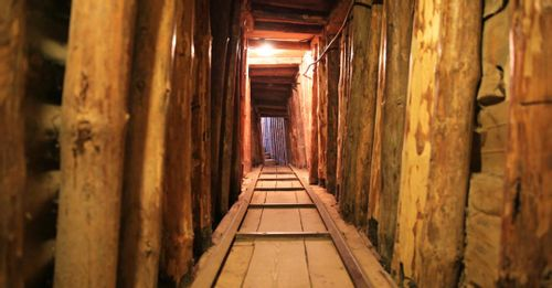 Climb inside the historic Sarajevo Tunnel to see how numerous civilians escaped during wartimes
