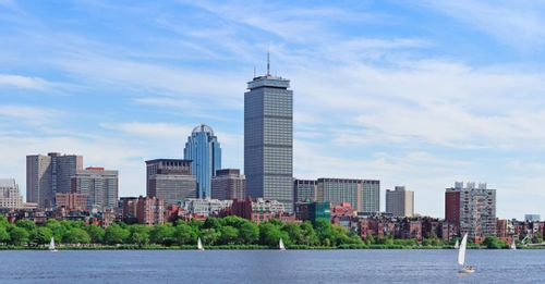 See Boston from above at the Skywalk Observatory