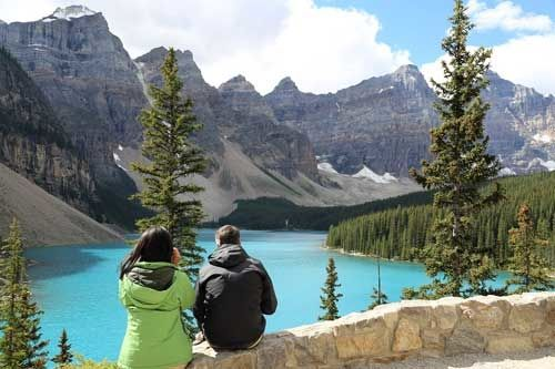 Stand in Awe of Moraine Lake and Lake Louise