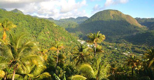 Saint Lucia Lush Mountain Coast