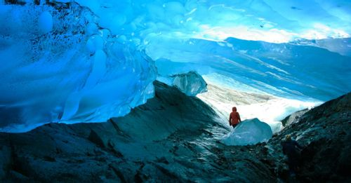 See the Mendenhall Glacier