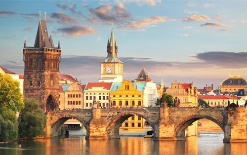 Enjoy a Romantic Stroll on the Charles Bridge in Prague
