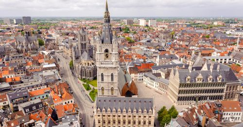 Tour the three main Ghent Towers to see the best views in town