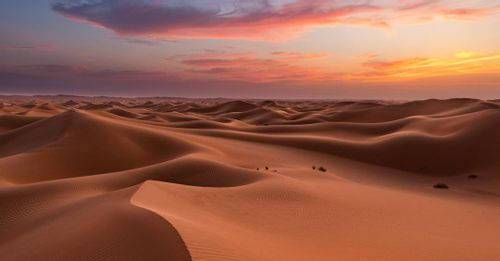 Singing Sand Dunes of Liwa