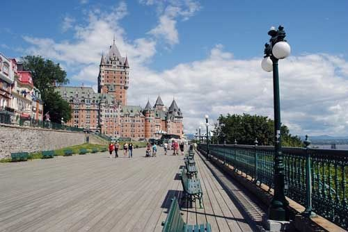Stay at the Fairmont Le Chateau Frontenac