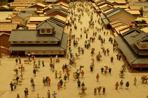 See the scale-model architecture works inside the Edo-Tokyo Museum