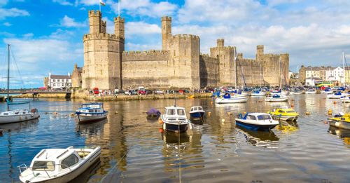 Marvel at the Impressive Caernarfon Castle