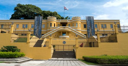 Learn history at the National Museum of Costa Rica