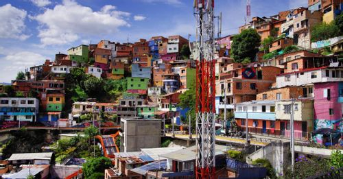 Explore Comuna 13 to see some of the best graffiti artworks in Medellin