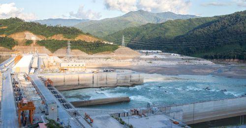 Xanyaburi Hyrdro Electric Power Plant and Dam