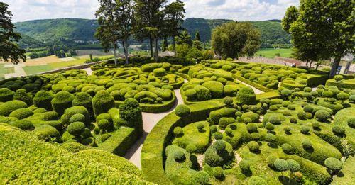 The Marqueyssaac Gardens