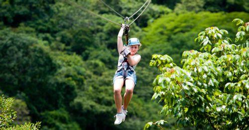Visit the Arenal Ecoglide Park