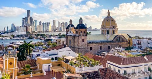 Step inside the old city walls in Cartagena to find unique shopping boutiques and restaurants