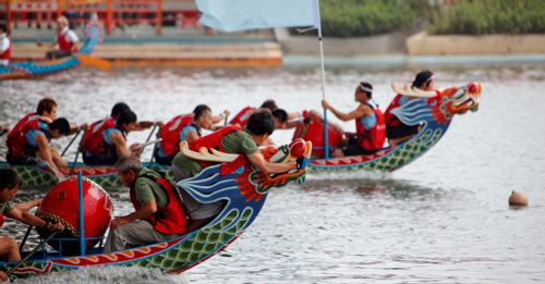 Attend the Dragon Boat Festival