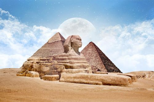 See the Sphinx, Giza, Egypt