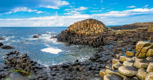 Marvel at the spectacular Giant's Causeway