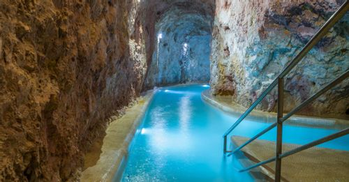 Relax at the Miskolctapolca Cave Bath