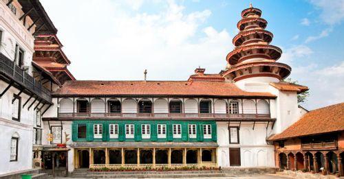 Visit the museums inside the Hanuman Dhoka temple complex