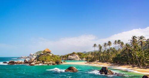 Spend the day hiking to the picturesque Cabo San Juan in the Tayrona National Park